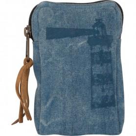 Monedero azul estilo náutico mercader del mar faro