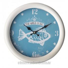 Reloj de pared de estilo marino  Mercader del mar