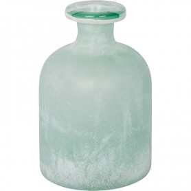 Botella esmerilada de estilo vintage marinero Mercader del mar