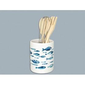 Porta utensilios marinero Blue Sea para cocina Mercader del Mar