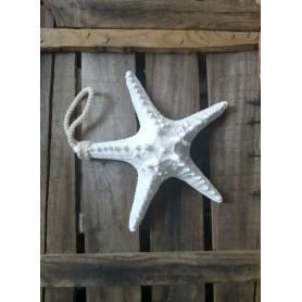 Colgante Marino Estrella de Mar Blanca El Mercader del Mar