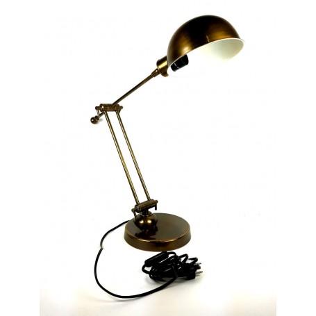 Lámpara de latón vintage