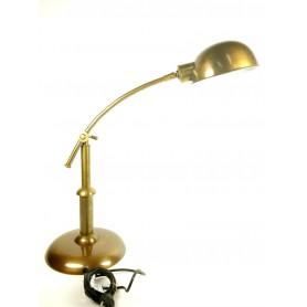 Lámpara de latón vintage de escritorio en elmercaderdelmar.com para decoracion náutica y marinera