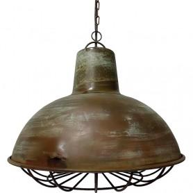 Lámpara de techo náutica de metal  en elmercaderdelmar.com para una decoración náutica y marinera