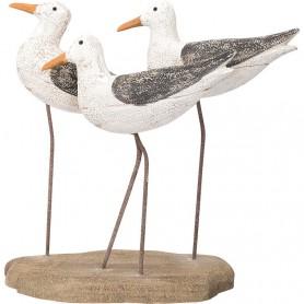 Figura marinera de 3 pájaros en elmercaderdelmar.com