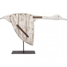 Pájaro náutico decorativo de ganso en elmercaderdelmar.com para decoración náutica y marinera