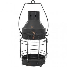 Lámpara de metal náutica en el mercaderdelmar.com para decoración náutica y marinera