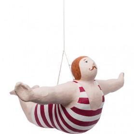 Figura decorativa marinera colgante en elmercaderdelmar.com para una decoración náutica y marinera