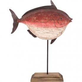 Figura pez decorativo náutico