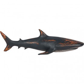 Tiburón marino decorativo tallado en madera es la figura perfecta para dar un toque marinero a cualquier rincón de la casa.