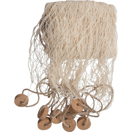 red de pesca para decoración marinera