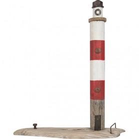Faro marítimo de madera