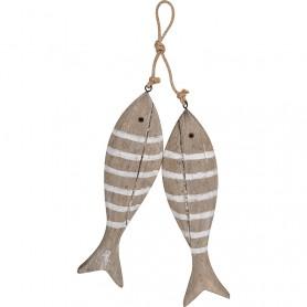 Colgante artesano peces marineros