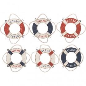 Salvavidas marineros magnéticos