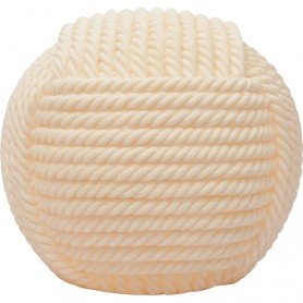 Lámpara artesanal cuerda marinera