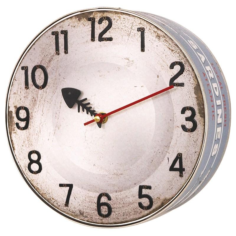 Marinas Reloj Lata Lata De De Sardinas Reloj ZwOPuTXki