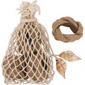 Servilletero con bolsa para decoración marinera