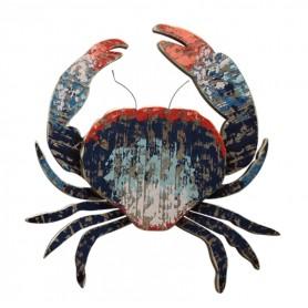 Mural cangrejo marino para decoración marinera