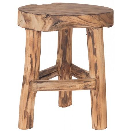 Taburete náutico de madera teca