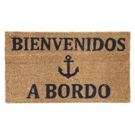 Felpudo marinero Bienvenidos a Bordo