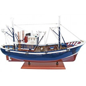 Maqueta de pesquero atunero