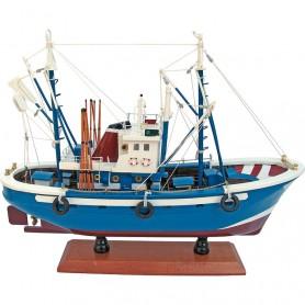 Maqueta de barco pesquero del atún
