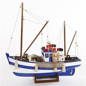 Maqueta de pesquero náutica