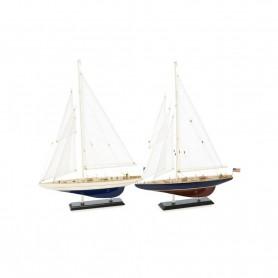 Set de 2 velerros ENDEAVOUR / ENTERPRISE