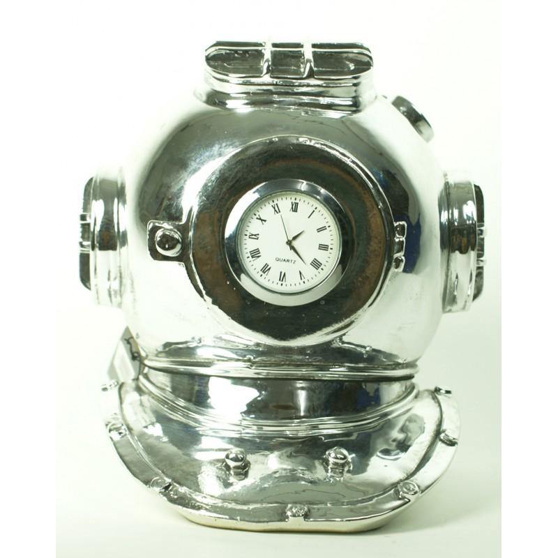 Reloj escafandra náutica vintage para decoración marinera