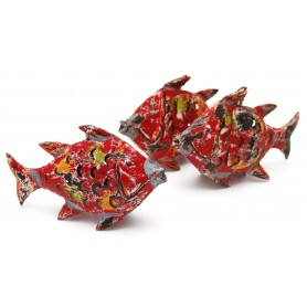Colgante portavelas marinero pez para decoración náutica
