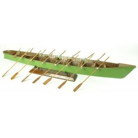 Maqueta naval barca Trainera