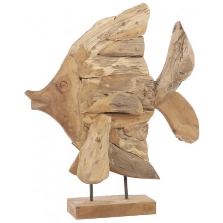 Figura pescado marino para decoración marinera