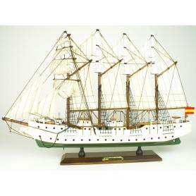 Maqueta del barco Juan Sebastián Elcano