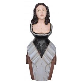 Mascarón naval para decoración marinera Jenny Lind