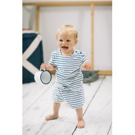 Camiseta náutica algodón de bebe