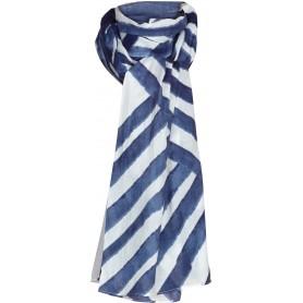 Echarpe pañuelo líneas marineras de mujer