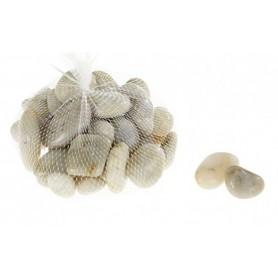 Bolsa piedras de mar para decoración marinera