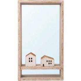 Espejo náutico decorativo casitas