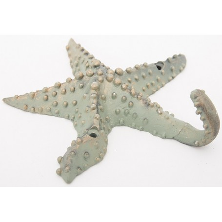 Perchero colgador estrella de mar de pared
