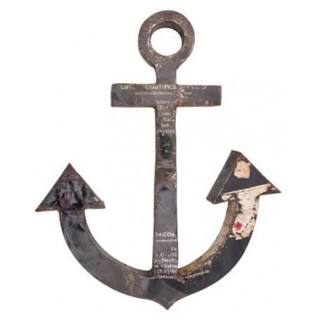 Ancla decorativa para decoración náutica