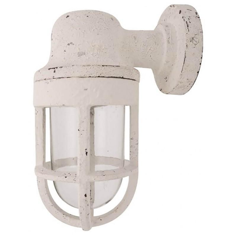 Aplique lámpara rústica para pared
