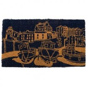 Felpudo alfombra paisaje puerto