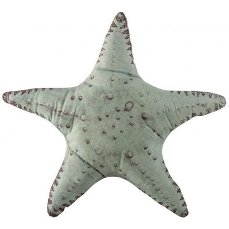 Cojín almohada náutica estrella de mar