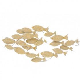 Mural banco de peces decoración náutica