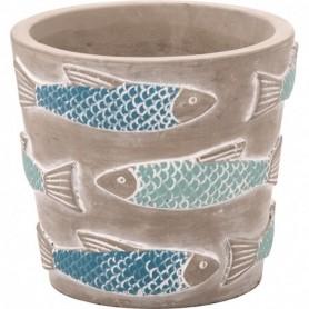 Macetero tiesto cerámica decoración