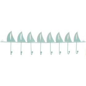 colgador marinero azul turquesa