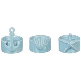 portavelas marineros azules