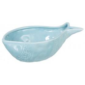 bol forma de pez azul