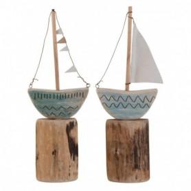 veleros en tronco