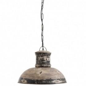 lampara hierro envejecida